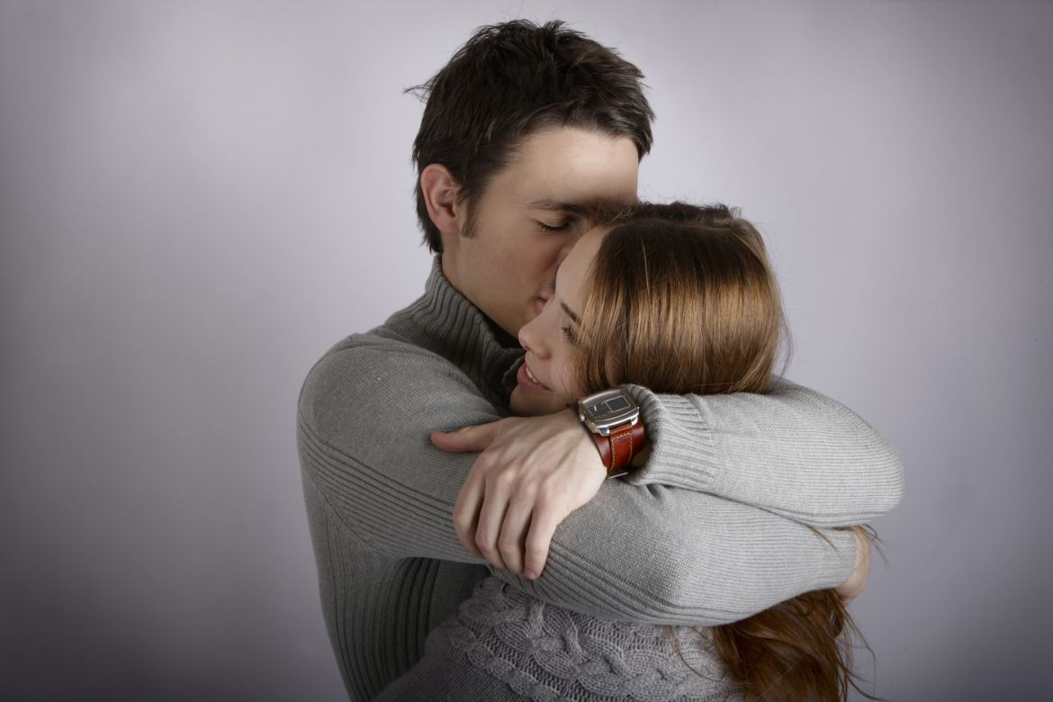 What does it mean when a guy initiates a hug?   Body