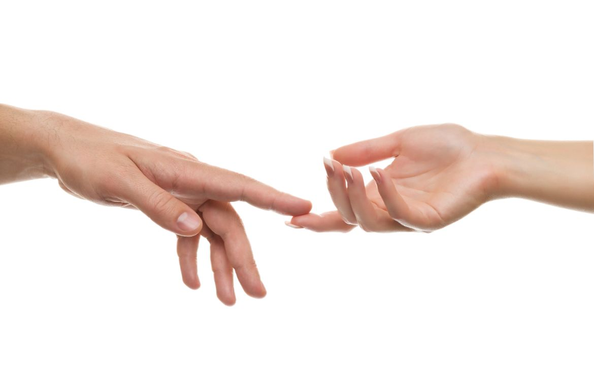 What does it mean when a guy touches your hand? | Body